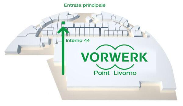 Folletto Bimby vorwerk point centro commerciale le fonti del corallo livorno